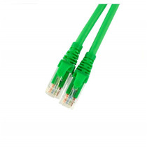 UTP cat6 PATCH  1m Brand-Rex zelen