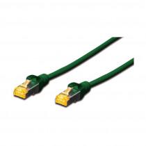 SFTP CAT.6A patch 5m zelen DIGITUS LSOH