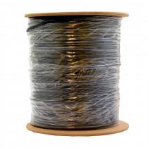 Kabel Flat AWG 26-4 črn 500m kolut EFB