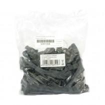 Zaščitna plastika za RJ45 črna DIGITUS (pak/100)