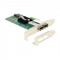 Mrežna kartica 1000 PCI Express 2xSFP DELOCK