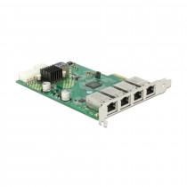 Mrežna kartica Giga 10/100/1000 PCI Express 4xRJ45 DELOCK