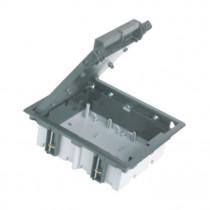 SIMC-talna doza za  4x modul globina 90-120 mm, siva