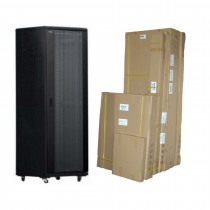 Kabinet  800x 800 42U 2055 TOTEN sestavljiv, G serija, črn