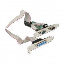 Kartica PCI Express Serijsko/Paralelna Delock + Low Profile