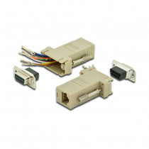 Adapter DB09Ž-RJ45 DIGITUS
