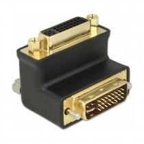 Adapter DVI-DVI 29M/29Ž kotni 90° 24+5 DELOCK