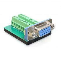 Adapter VGA 15Ž / terminal block Delock