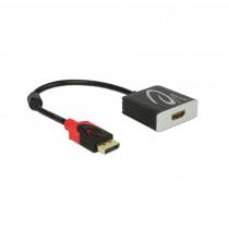 DisplayPort - HDMI adapter 4K 60Hz 20cm Delock
