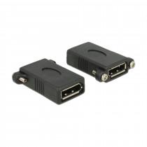 Adapter DisplayPort Ž-DisplayPort Ž vgradni Delock