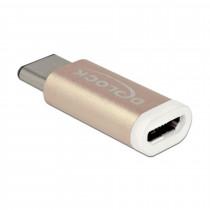 Adapter USB 2.0 Tip-C M - USB 2.0 mikro A-B Ž DELOCK