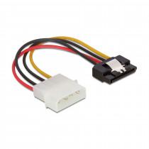 Adapter SATA + 1x Molex M Delock