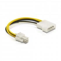 Adapter DC P4 0,15m Delock