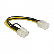 Adapter 6pin na 8pin za grafične kartice PCI-express 0,2m DELOCK