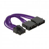 Adapter DC 2x13cm-8pin za grafične kartice PCI-express 0,15m DELOCK