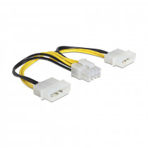 Adapter DC 2xMolex M - 8pin EPS DELOCK