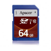 Pomnilniška kartica SD XC 64GB APACER UHS-I Class 10