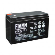 Akumulator FIAMM 12V/ 7,2 Ah-faston 4.8